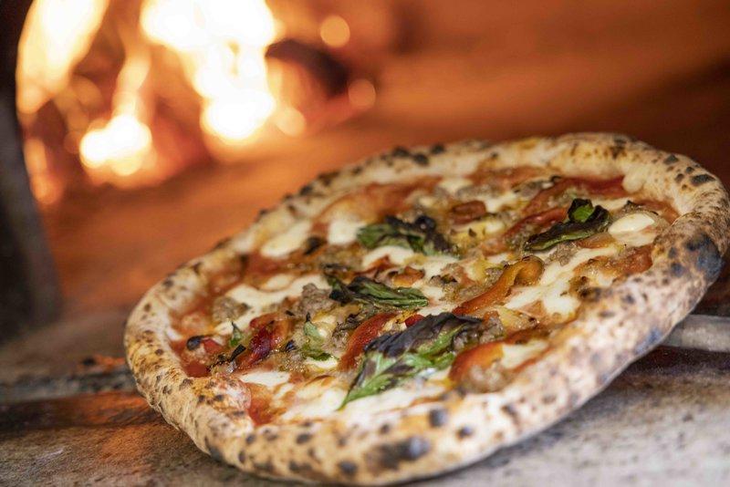 Pizza for Papas at Scuderie Italia