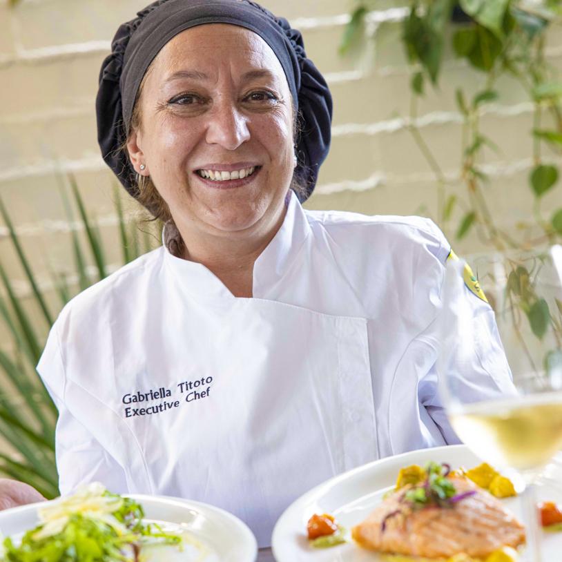 Executive Chef Gabriella Titoto