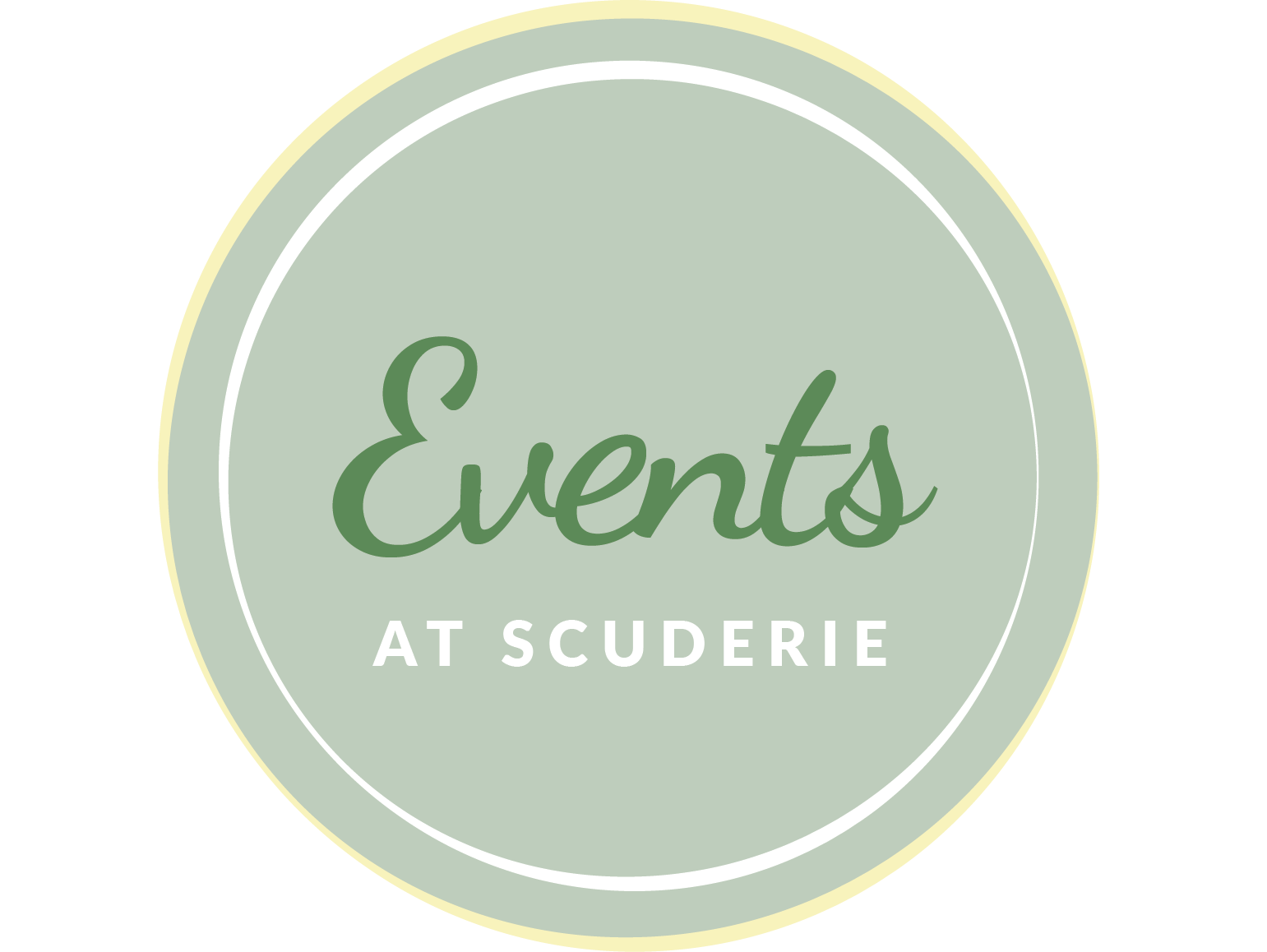 EVENTS AT SCUDERIE